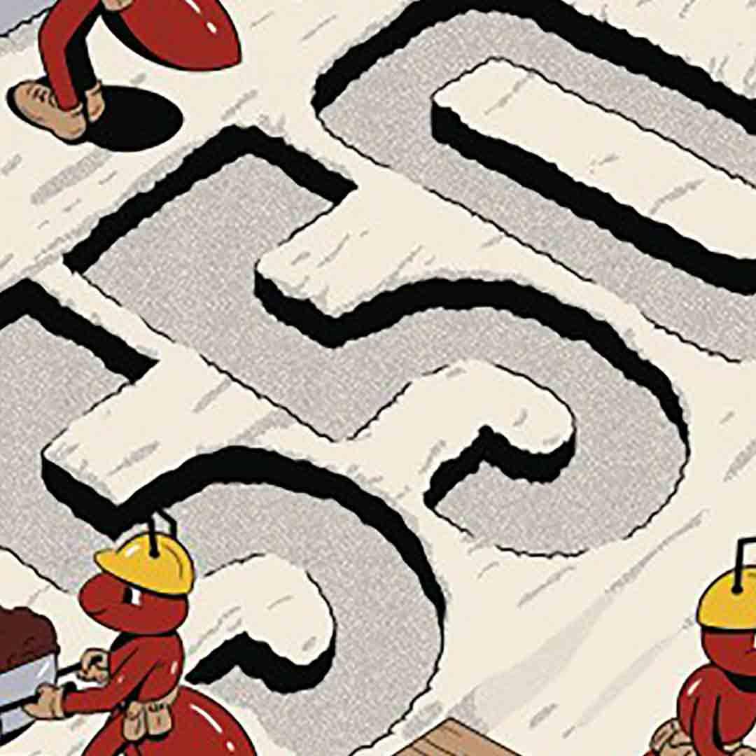 illustration of remodeling 550 logo