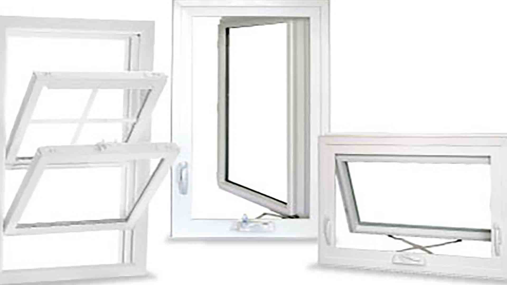 3 different window styles