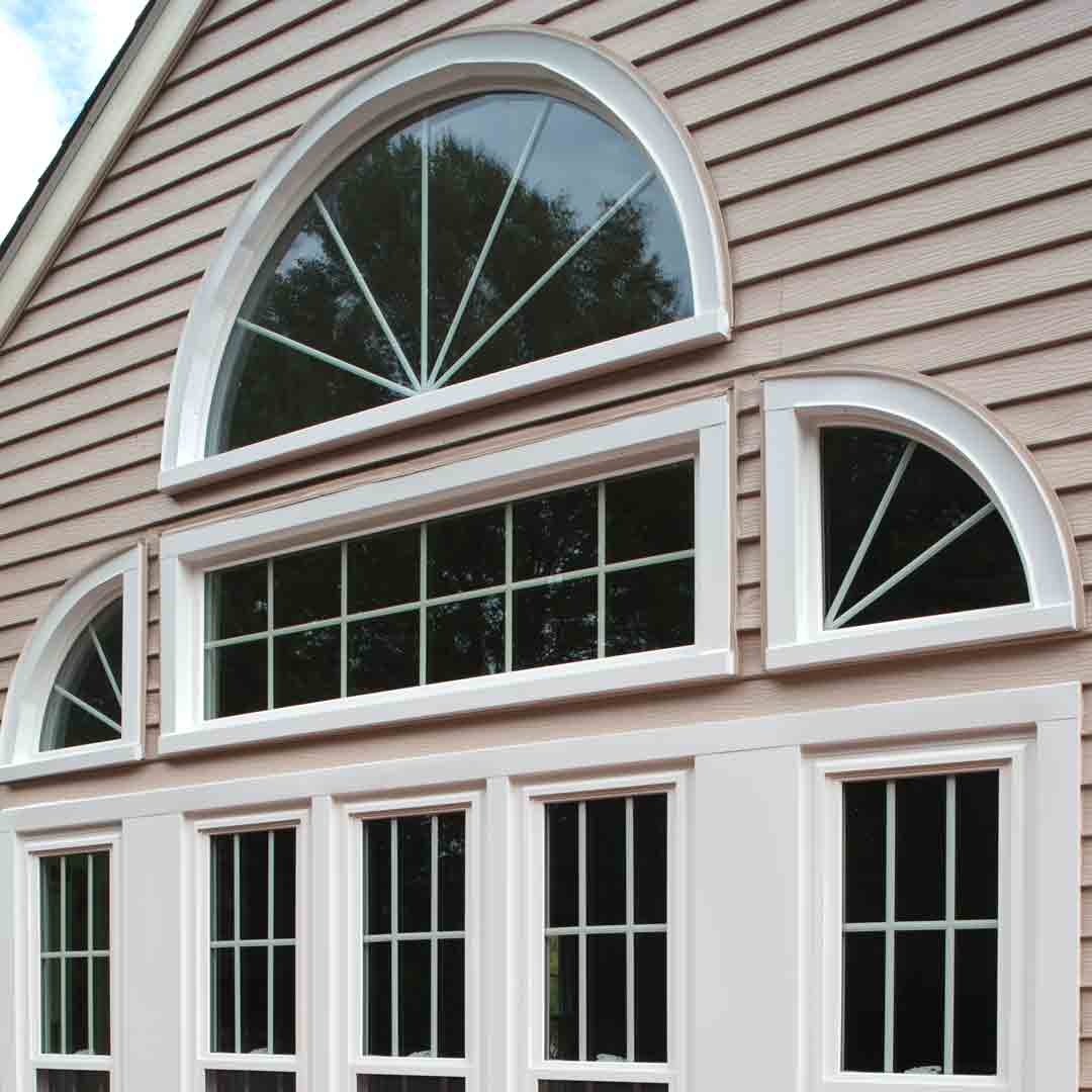 Specialty Windows on home