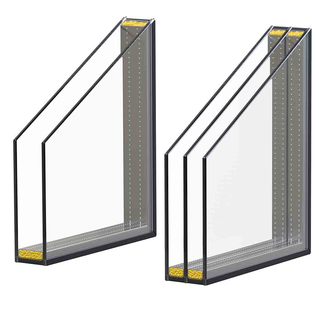 Double and Triple Pane Window Profiles