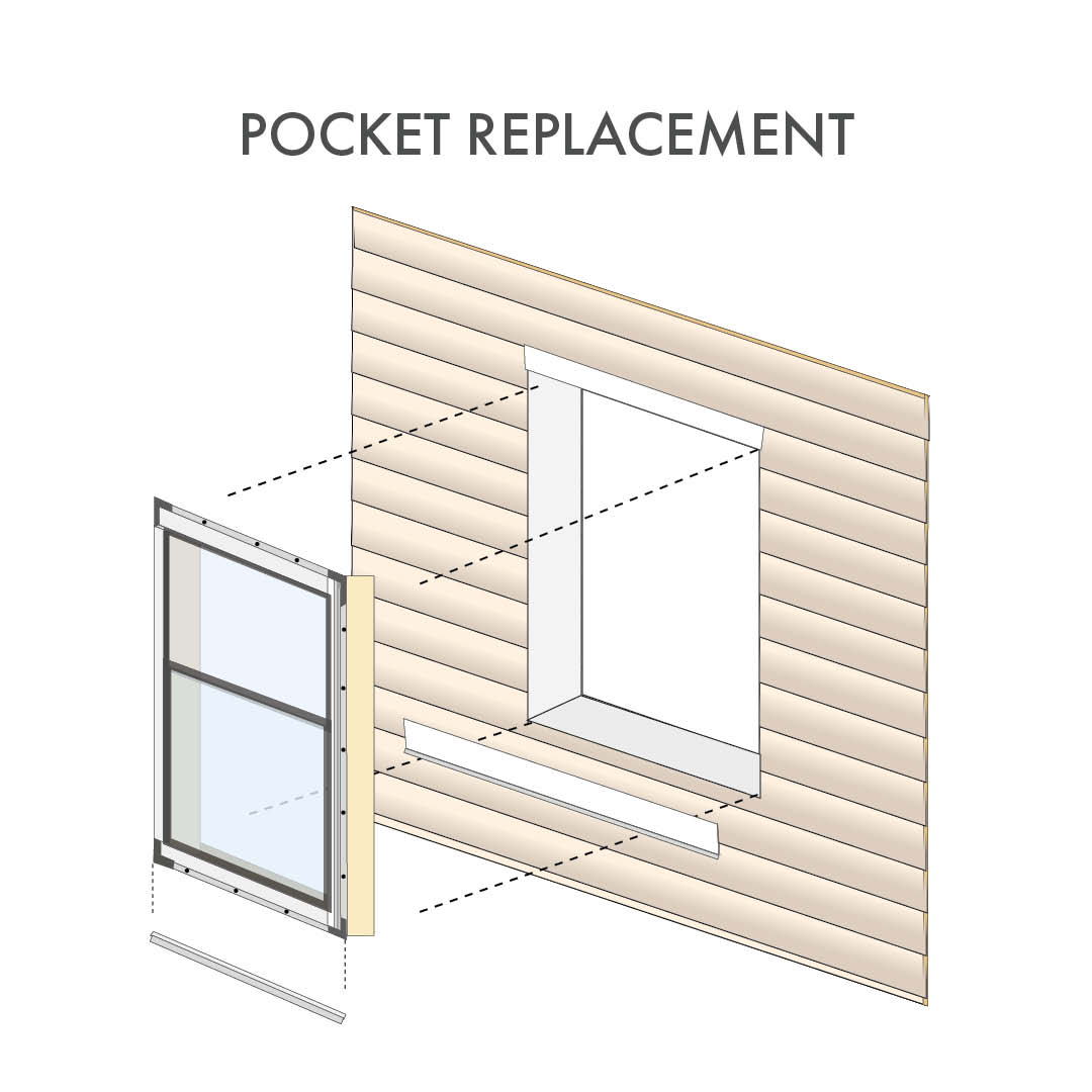 Pocket Window Replacement