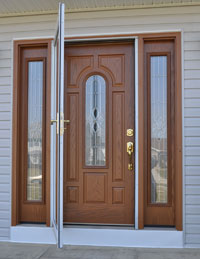 New entry doors for Charlotte homeowners.