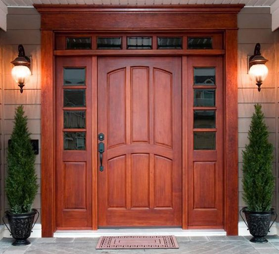 Elegant ... Like Your Dream Wood Door. Whether Your Stain Color Of Choice Is Cherry  Or Mahogany, Rich Wood Stains Will Instantly Make Your Home Feel More  Expensive.
