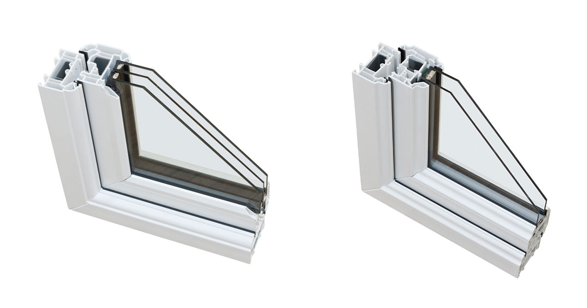 Triple Pane Windows versus Double Pane Windows