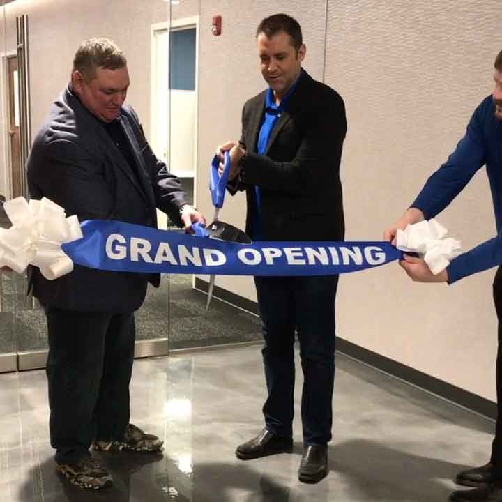 New Coporate HQ Grand Opening with Owners Bill Barr and Michael Strmac