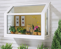 Brighten up your home with garden windows in your kitchen.