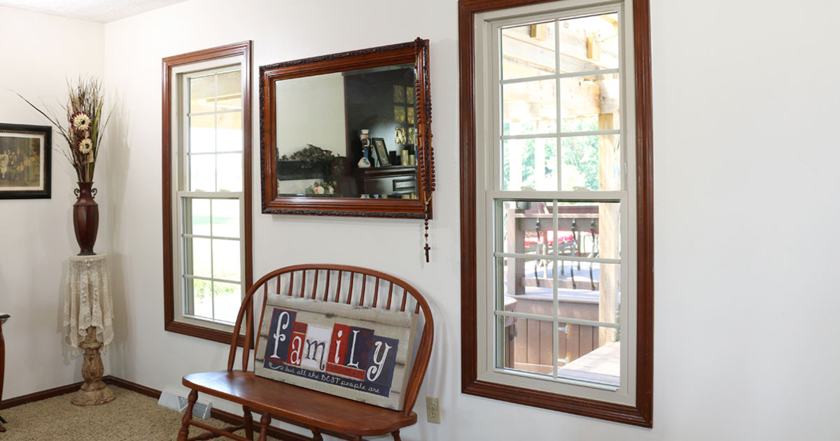 New windows can compliment your home.