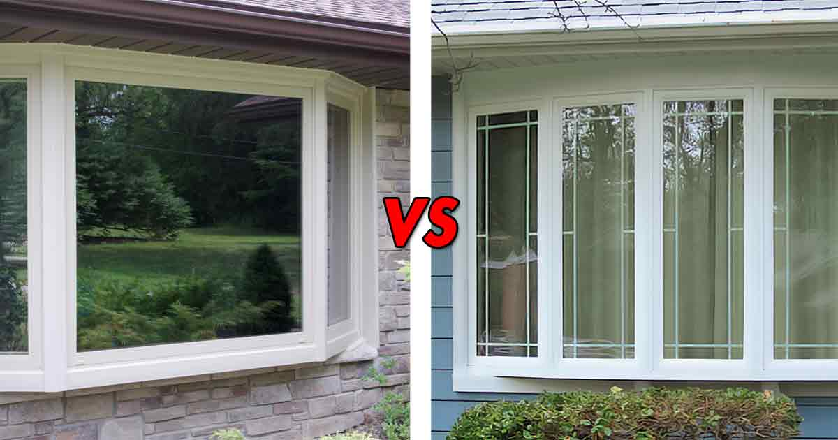 Bay Windows Vs Bow What S The Difference