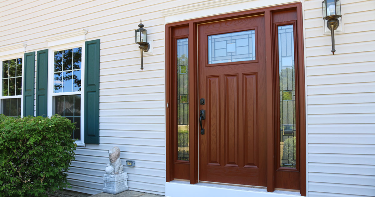 Entry doors that fit your home perfectly
