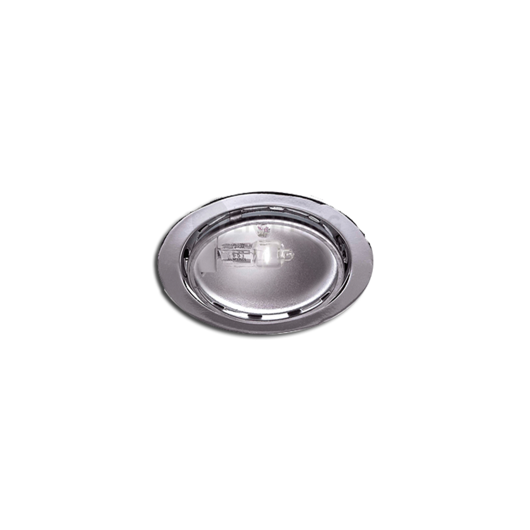 Satin Nickel Clear Lens