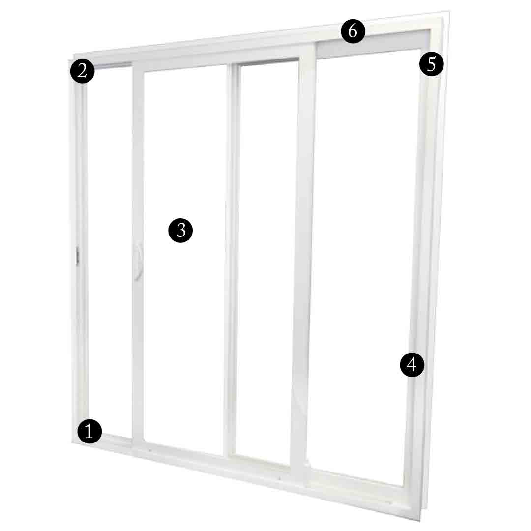 Sliding Glass Door Pieces