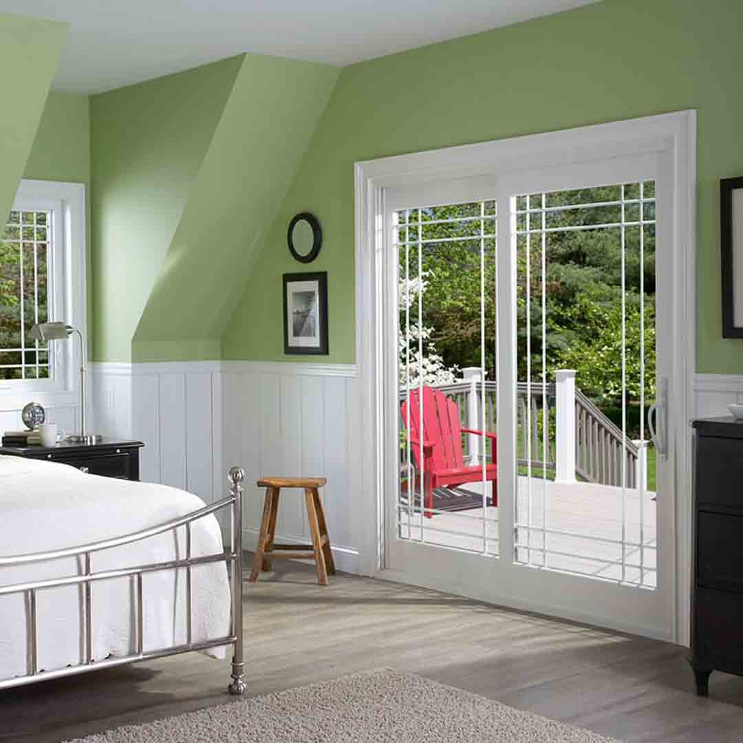 French-Style Sliding Glass Door