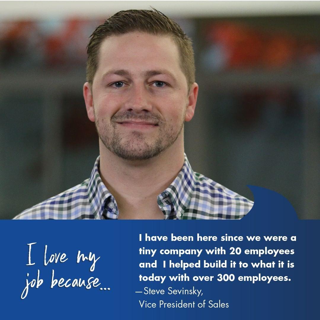 Employee Testimonial - Steve Sevinsky