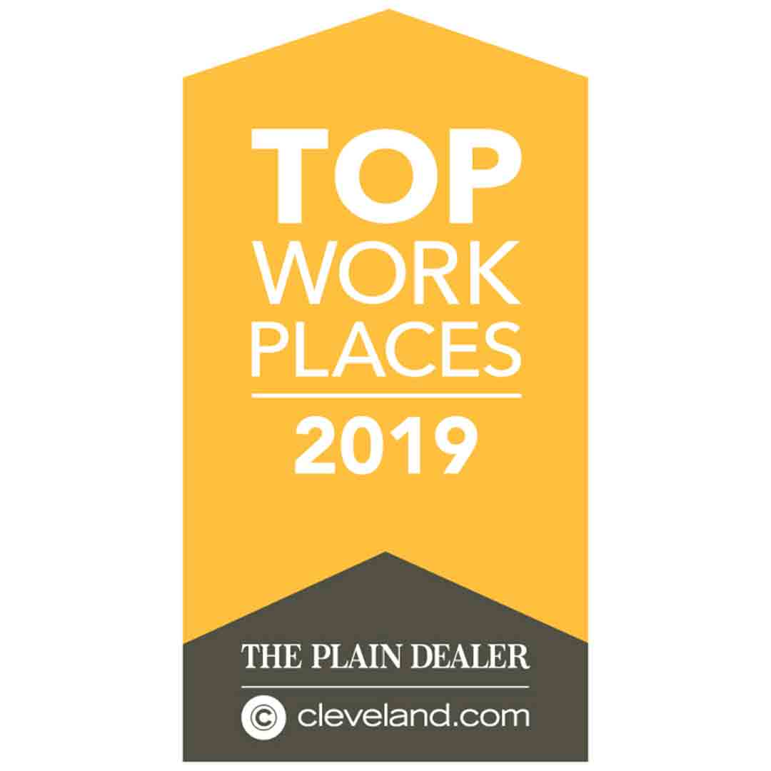 Cleveland.com Top Workplaces 2019 Winner - Universal Windows Direct
